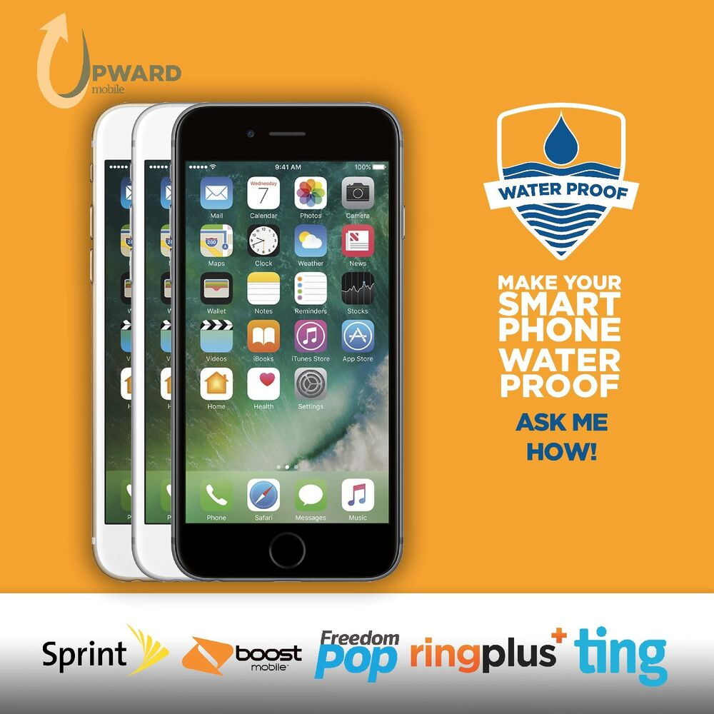 sprint iphone 6 plus apple iphone 6 16gb 64gb 128gb boost mobile ringplus 1303