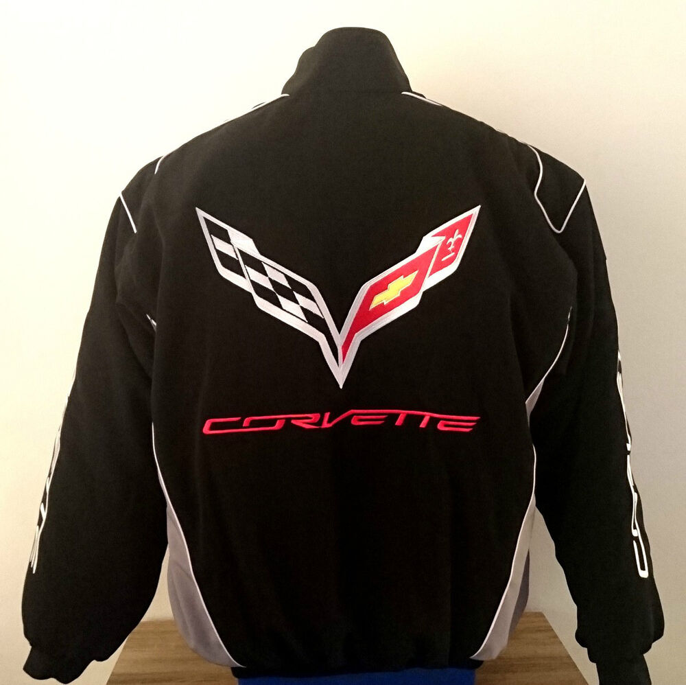 JACKET-BLOUSON-JAQUETTE.CORVETTE C7 RACING TEAM ALL LOGO