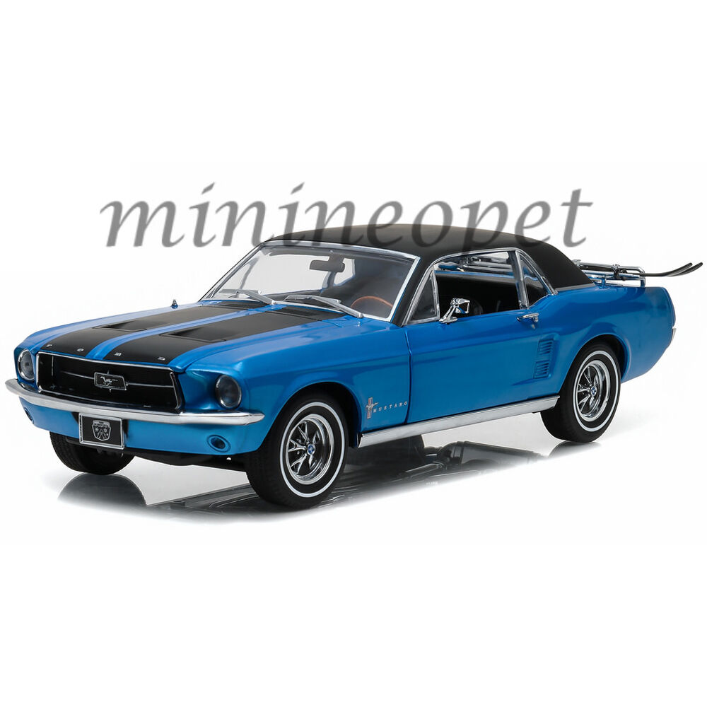 greenlight 12965 1967 67 ford mustang coupe with ski. Black Bedroom Furniture Sets. Home Design Ideas