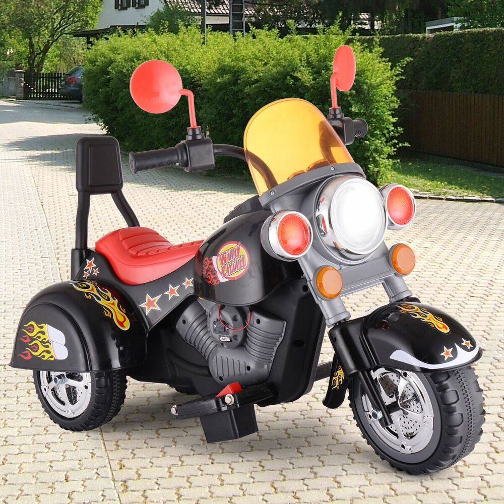 Harley Davidson Riding Motorcycles For Kids Electric Boy