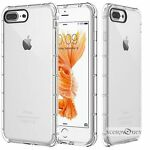 For Iphone 7 Plus / 7 / 6S / 6 Plus  Case Clear Bumper Rubber Protective TPU