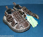 Baby Toddler Boy's Girl's NWT 2 Brown Fisherman Style Sandals Shoes