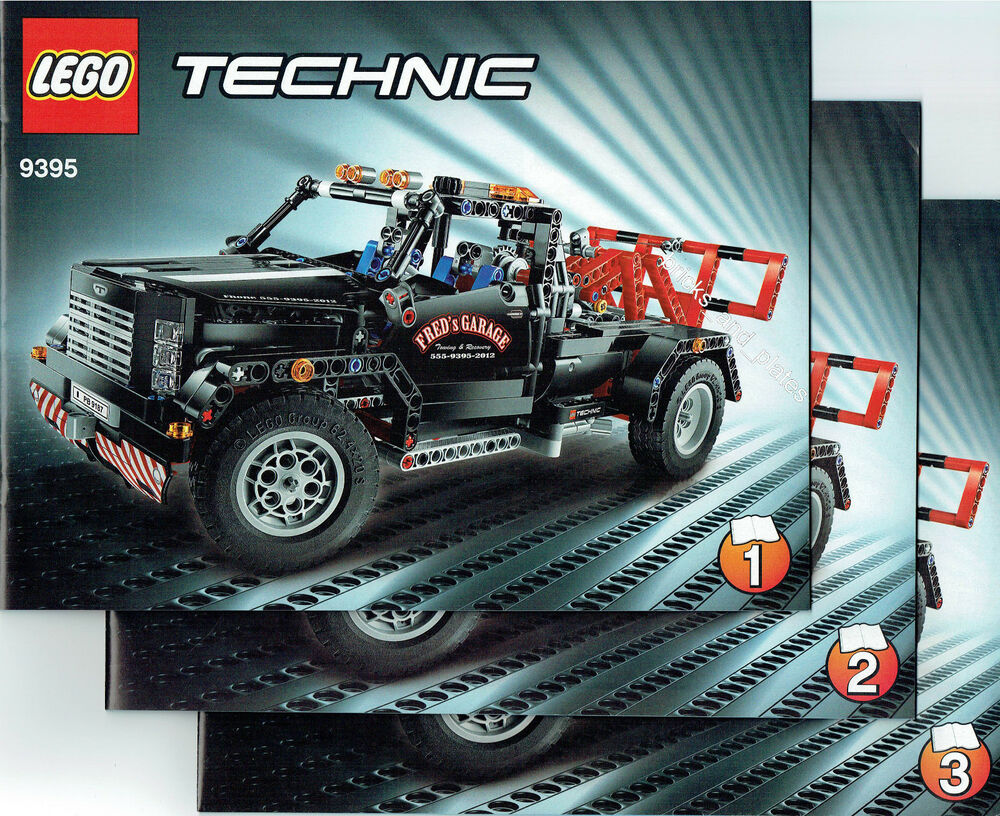 lego technic bauanleitung f r 9395 pickup abschleppwagen. Black Bedroom Furniture Sets. Home Design Ideas