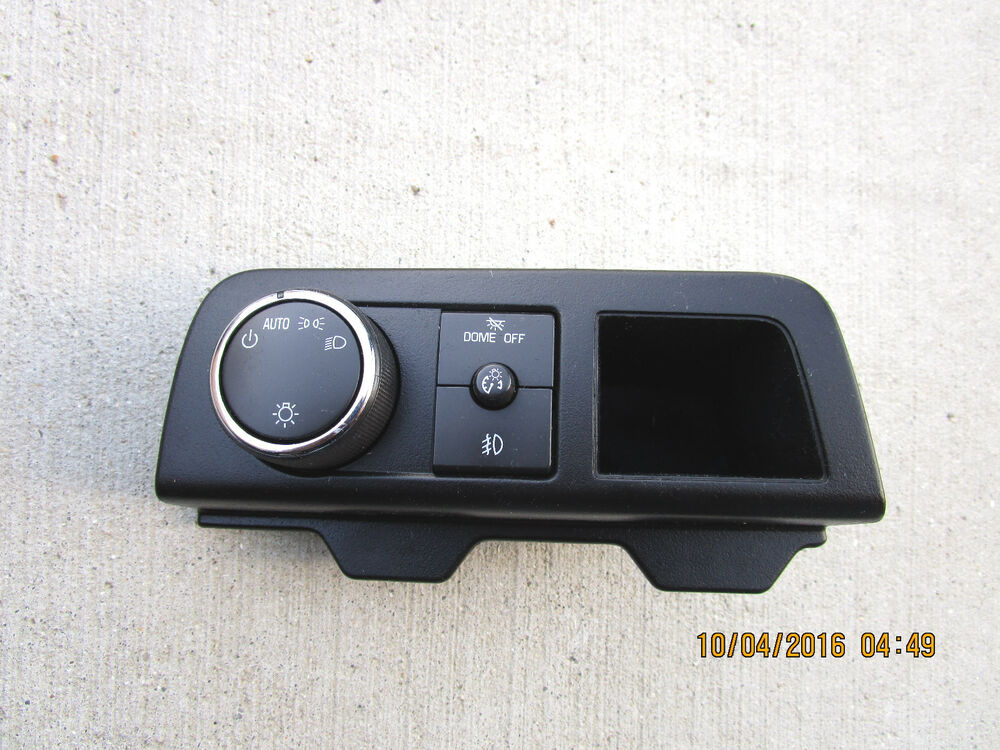 07 10 cadillac escalade esv ext dash dome light switch. Black Bedroom Furniture Sets. Home Design Ideas