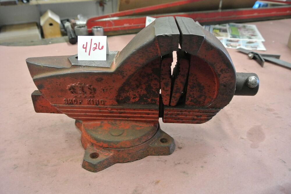 Vintage Wilton Shop King Bench Vise Ebay
