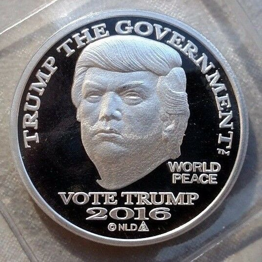 2016 Donald Trump Dollar Coin 25 1 Troy Oz 999 Fine Make