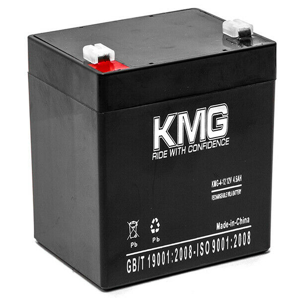 12v 4 5ah f1 kmg 4 12 battery for apc back ups 350 es350va. Black Bedroom Furniture Sets. Home Design Ideas
