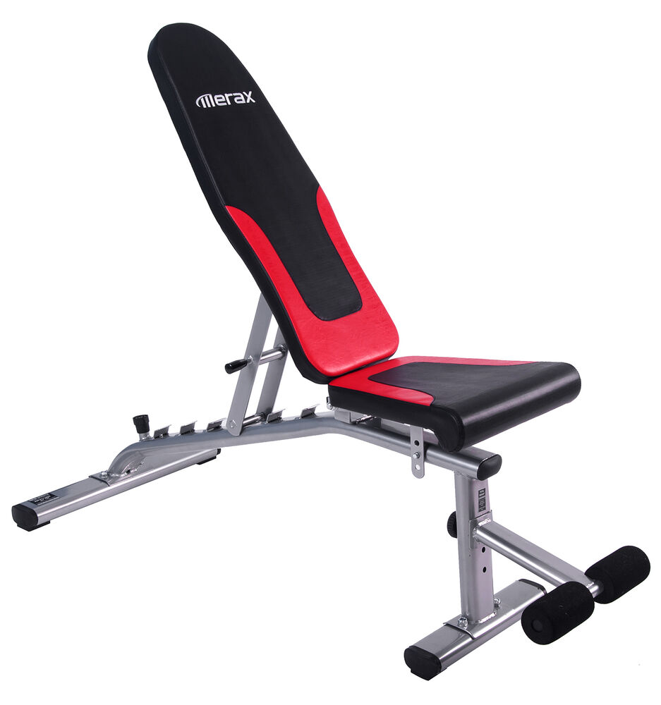 Merax 6 Position Adjustable Weight Bench Sit Up Abdominal Exercise Bench Ebay