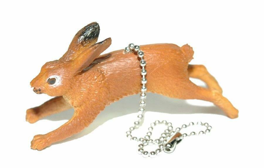 Cute Rabbit Hare Ceiling Fan Pull Fp077 Ebay
