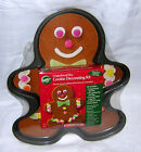 Wilton Giant Gingerbread Man Non-Stick Cookie Pan with Decorating Kit 2109-0525