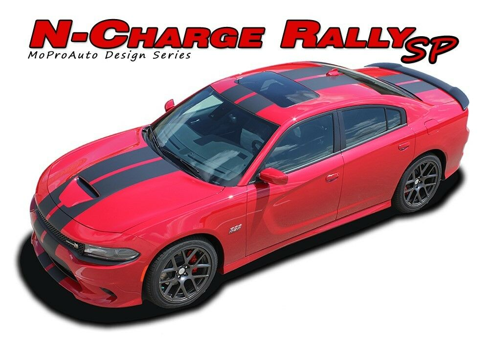 Dodge Charger Srt 392 >> 2015-2018 Dodge Charger R/T Scat Pack 392 Hellcat Racing Stripes Decals Graphic | eBay