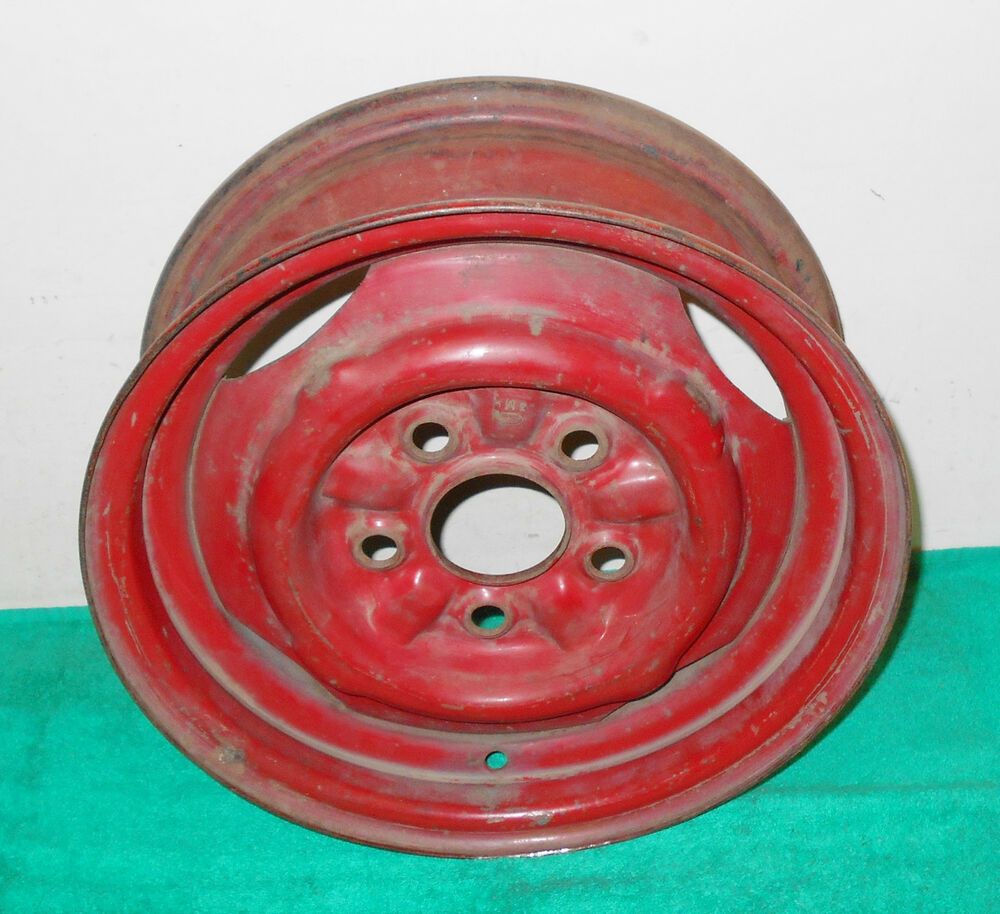 Details about 1963 1964 1965 ford mustang falcon sprint ranchero comet 5 lug 13 steel wheel