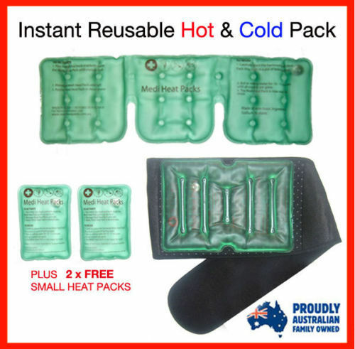 NEW BRAND!! Reusable Instant Heat Packs, Ultimate Package ...