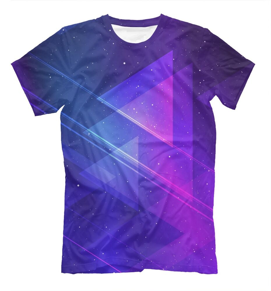 violet space t shirt abstract psychedelic edm