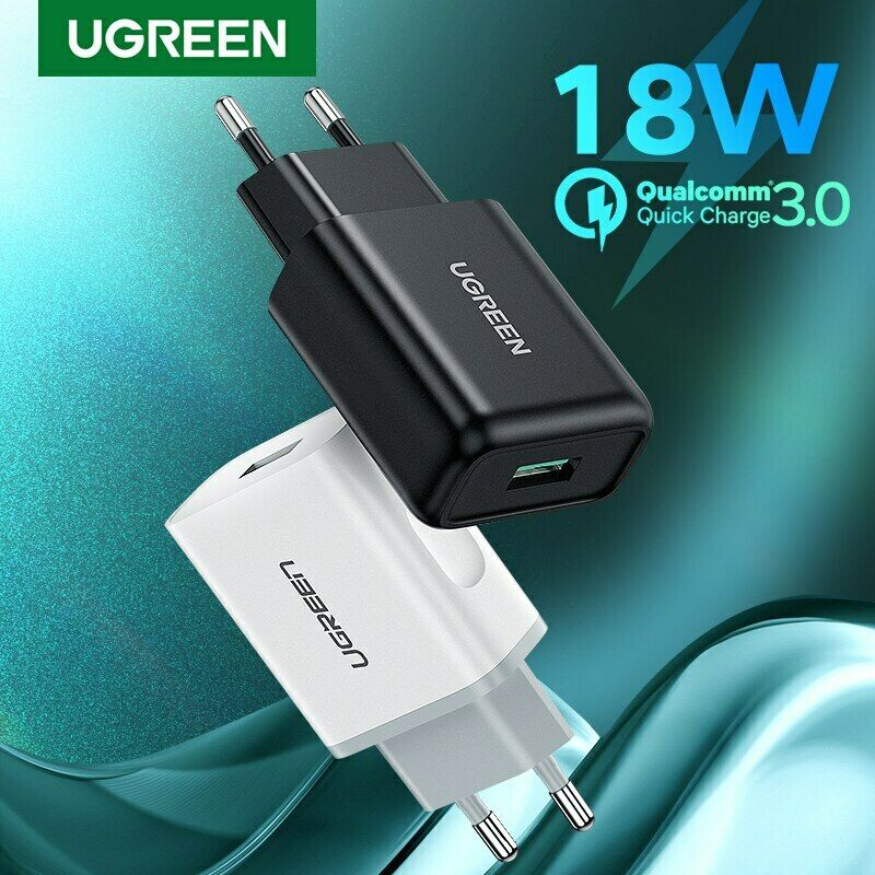 UGREEN USB Charger Quick Charge 3.0 18W Rapid USB Wall