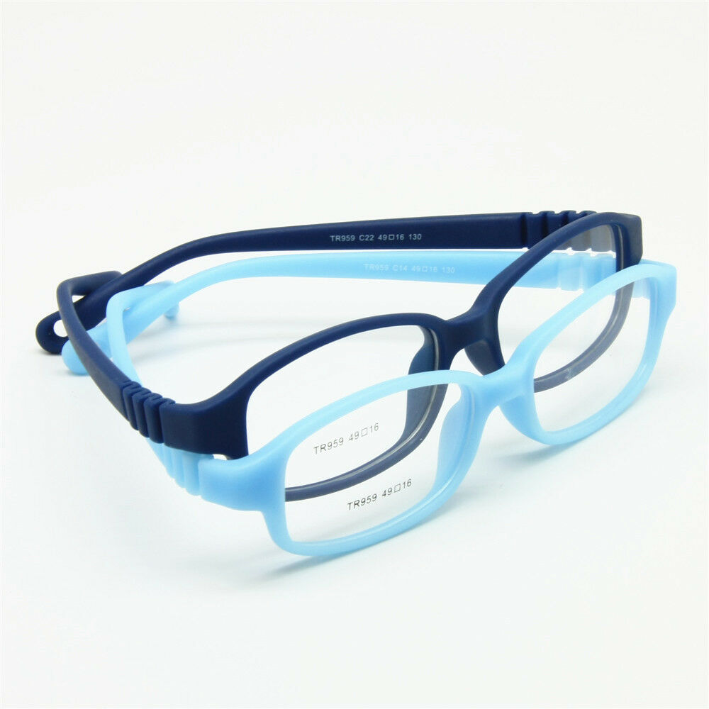 Children Optical Glasses Frame With Strap Size 49 No Screw