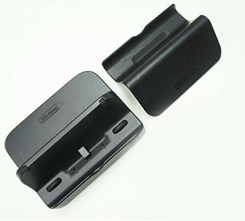 Genuine Nintendo Wii U Black Cradle Amp Stand Set Gamepad