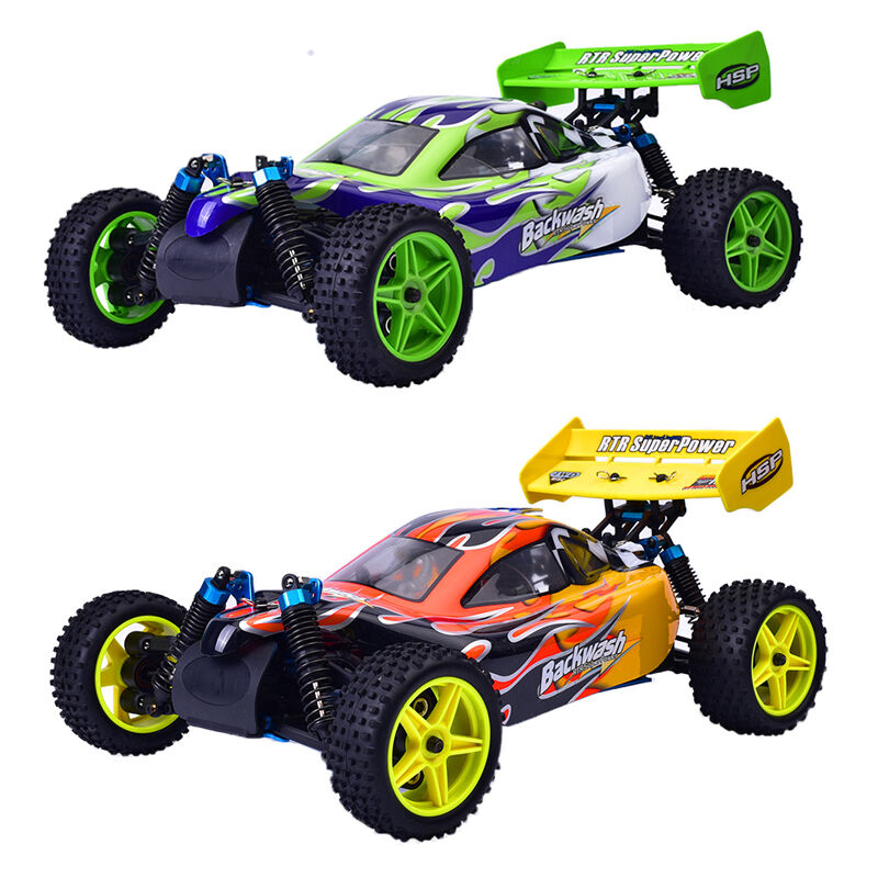 94166 hsp 1 10 scale racing gas power 4wd rc car toy two. Black Bedroom Furniture Sets. Home Design Ideas