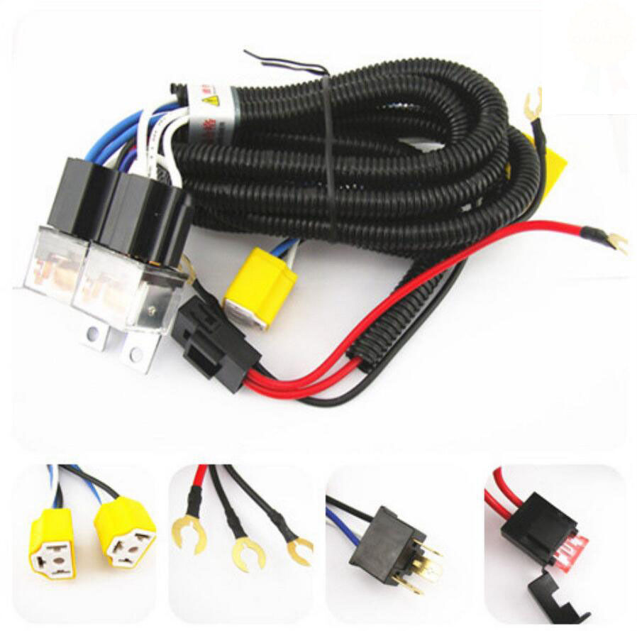 H4 Headlight Wiring Harness Trusted Diagrams Bulb Relay System 2 Headlamp Light Chevy Hid Wire