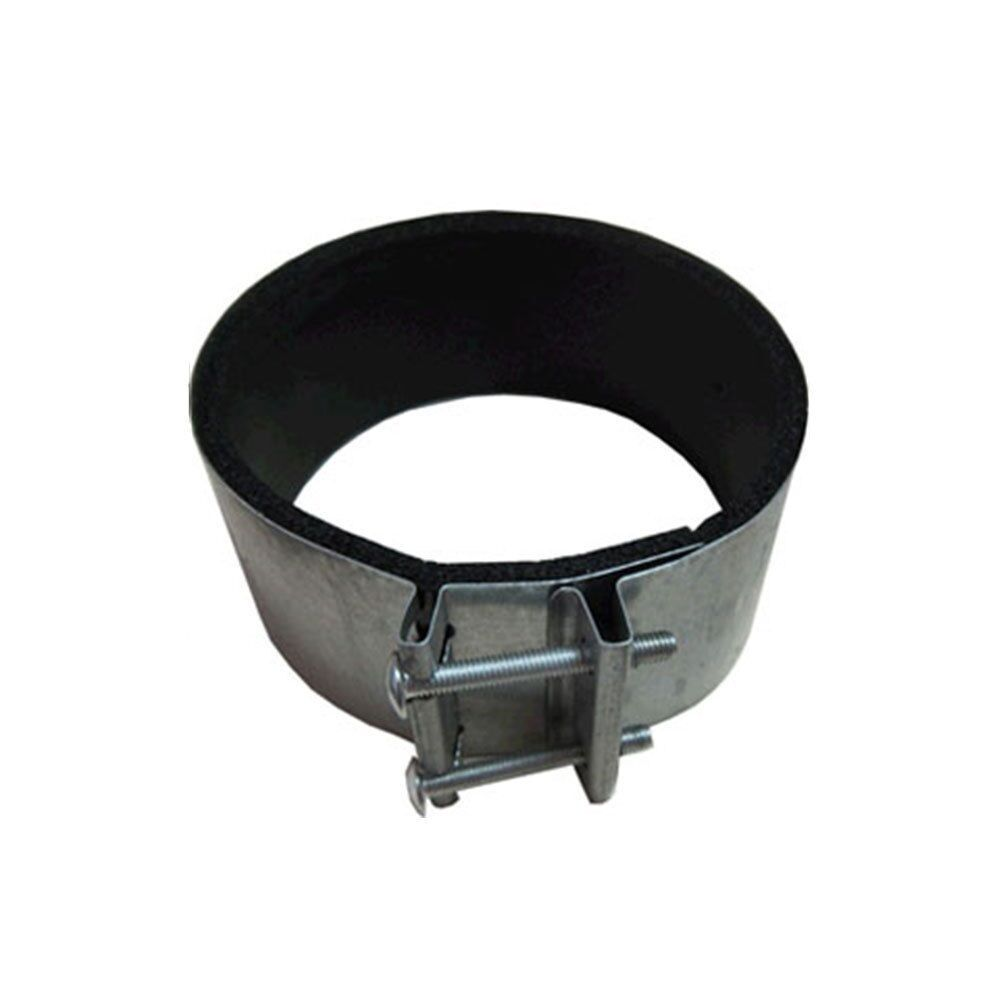 Quot noise reduction clamps connector for duct vent fan