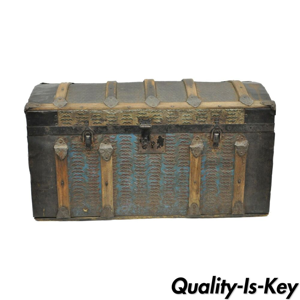how to clean old steamer trunks