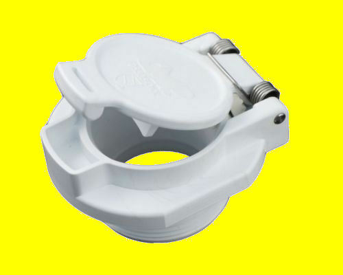 Pool Vacuum Safety Vac Lock Pool Wall Fitting White For