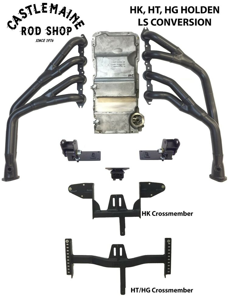 hk ht hg holden ls1 ls2 ls3 engine conversion kit rod shop monaro ute sedan van