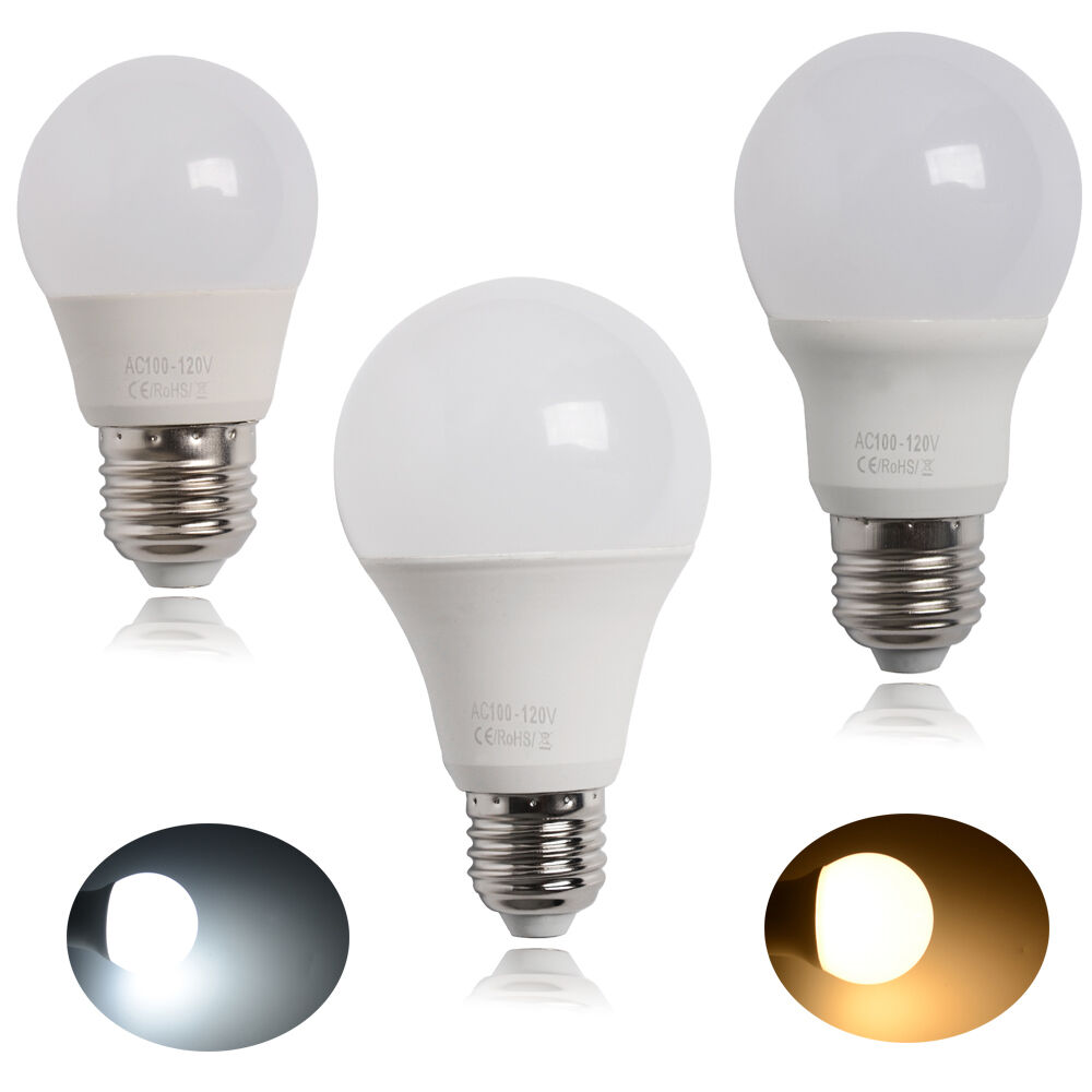 Ge 40w Equivalent Reveal A19 Dimmable Led Light Bulb: 3pack 40W 60W 80W SlimStyle A19 A21 LED Light Bulb Cool