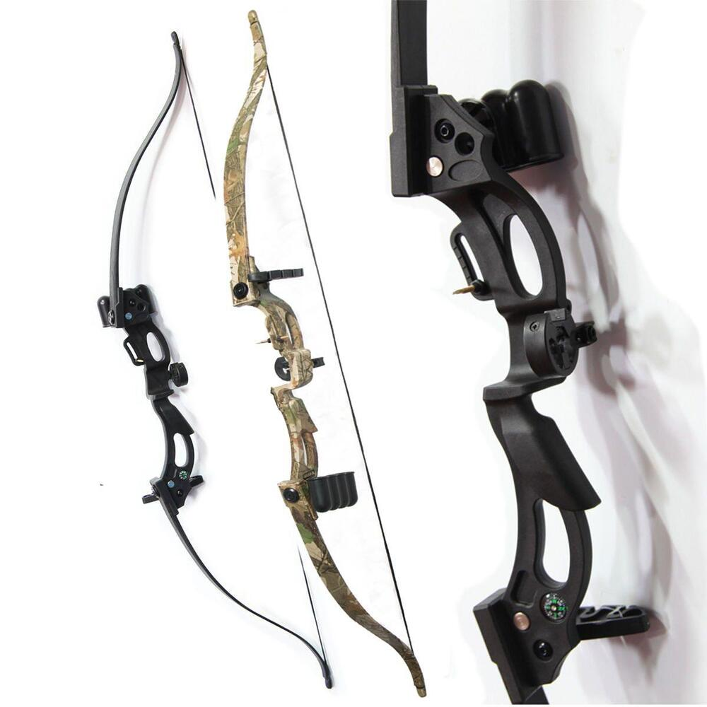 Archery Takedown Recurve Game Bow Hunting Shooting