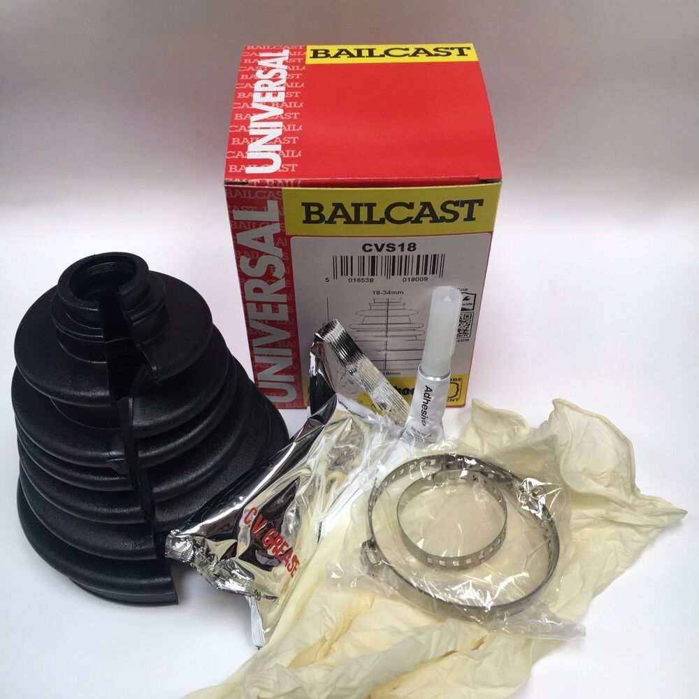 universal split cv boot kit bailcast stickyboot easy
