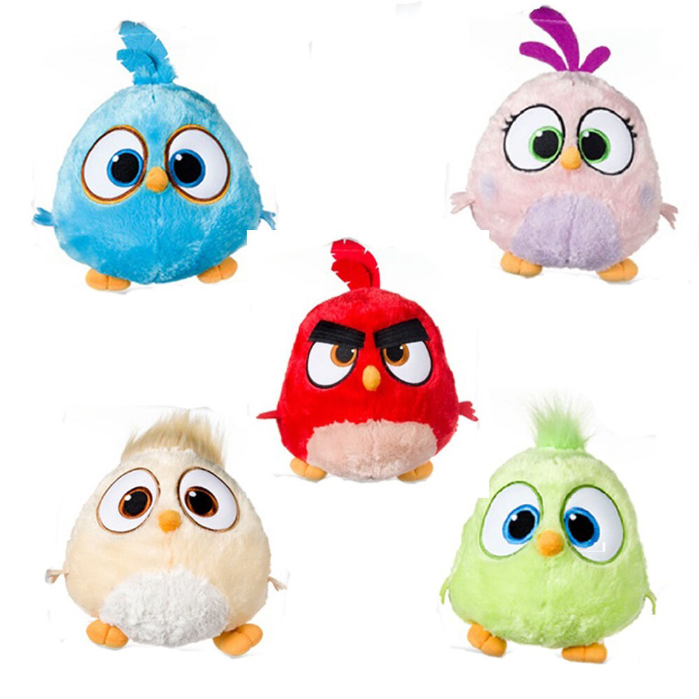 Angry Birds Toys : Angry birds hatchlings quot soft plush toy childrens kids