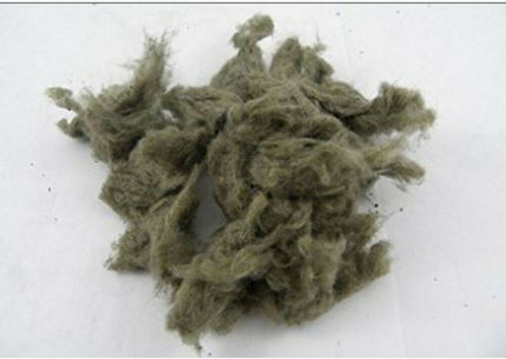 Small rock wool bag for gas fireplaces and gas logs for Stone mineral wool