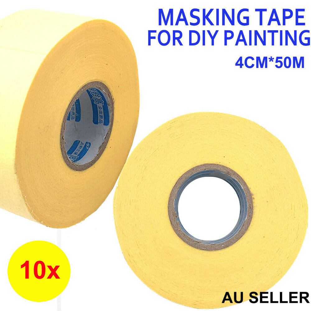 10x premium masking tape diy painting painter masking car. Black Bedroom Furniture Sets. Home Design Ideas