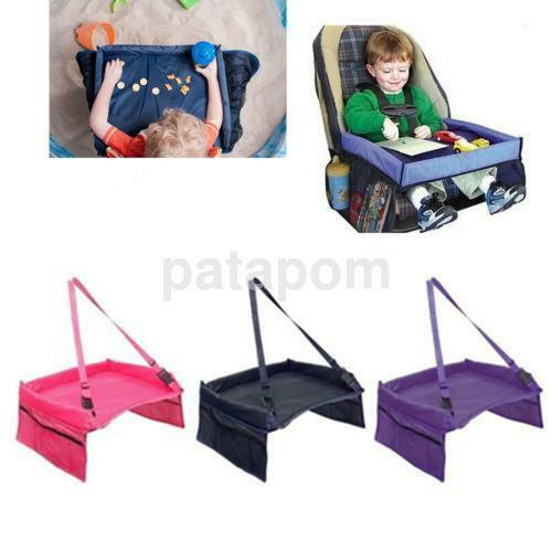 1 Pcs Baby Car Safety Seat Lap Tray Portable Table For