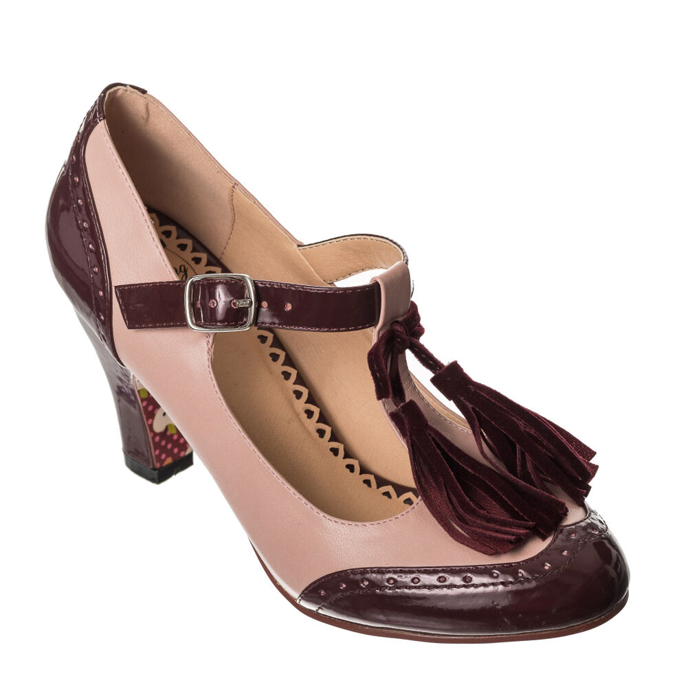 Ladies Two Tone Dance Shoes