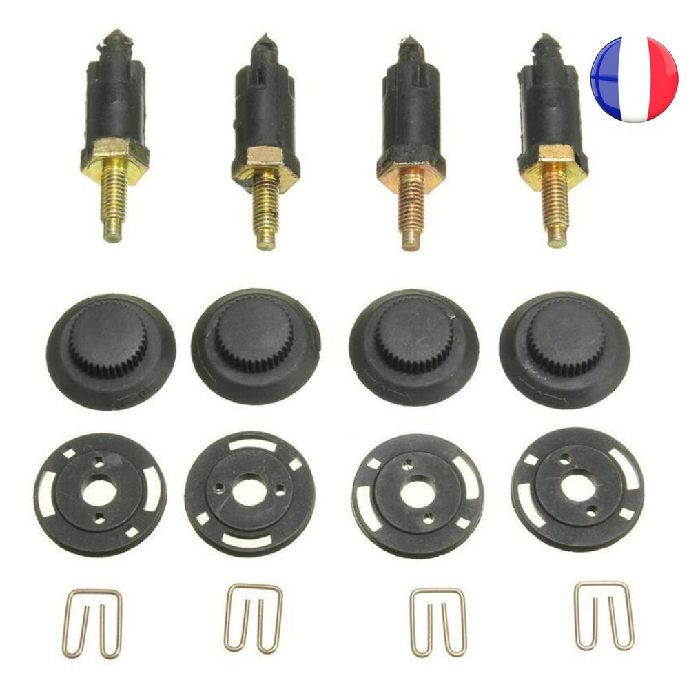 4 vis et 4 clips fixation cache moteur hdi pour peugeot 206 207 306 307 806 ebay. Black Bedroom Furniture Sets. Home Design Ideas