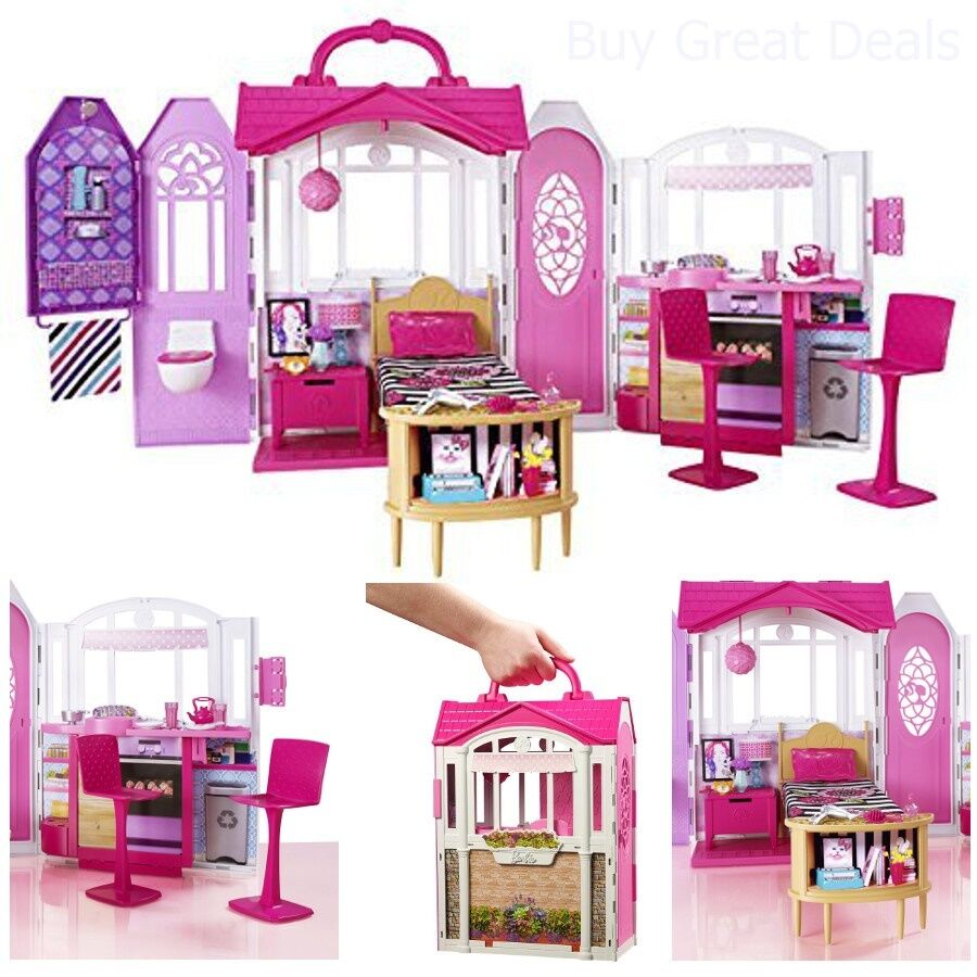 Barbie Glam Gateway Dream House Games Girl Toy Boxes For Cheap