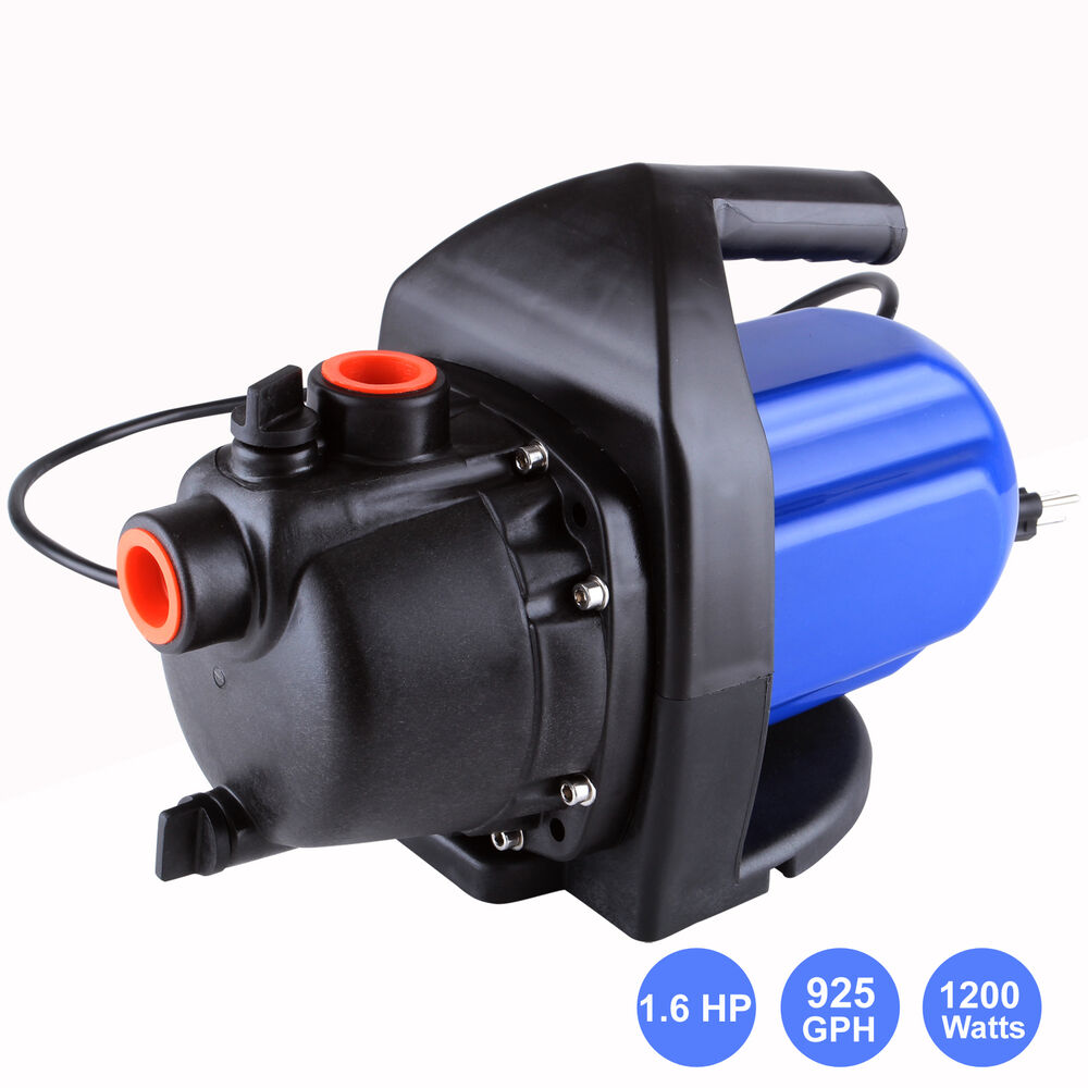 925 Gph Electric Water Booster Garden Pump Irrigation