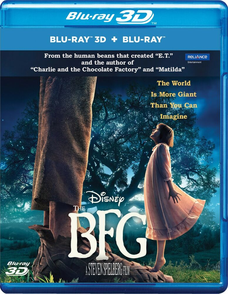 the bfg live action 2016 blu ray 3d blu ray all. Black Bedroom Furniture Sets. Home Design Ideas