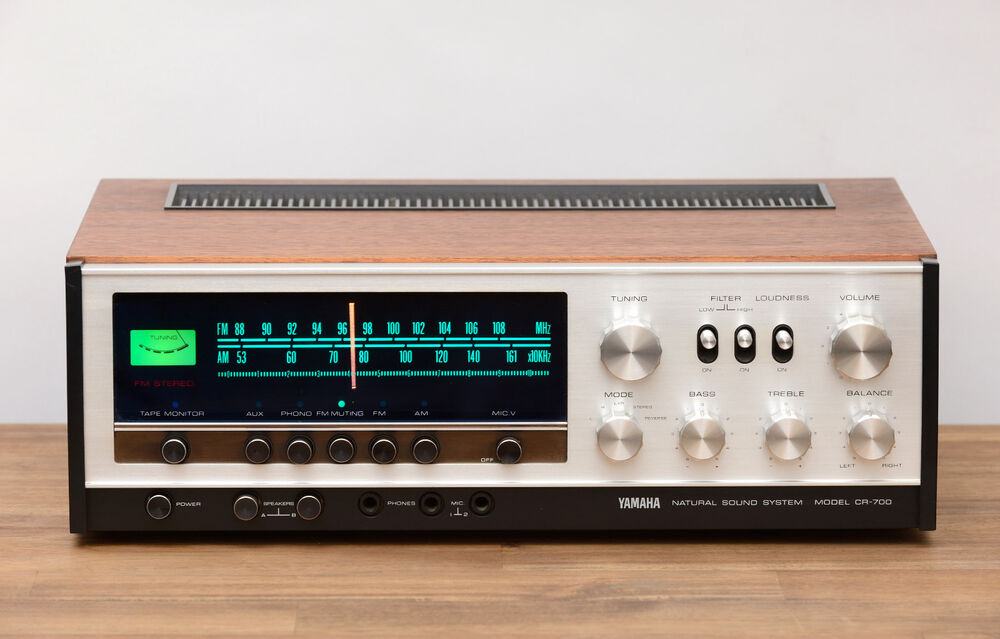 Yamaha cr 700 stereo receiver radio verst rker for Yamaha amplifier receiver