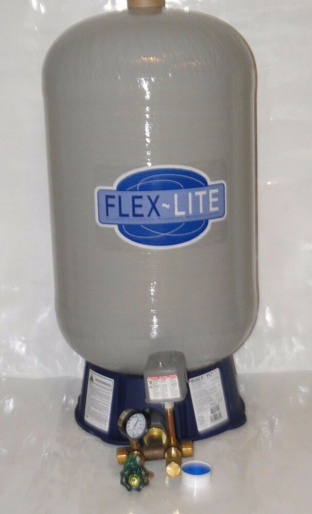 fl 7 flexcon 22 gal brass tee kit flex lite water well pressure tank wm6 wx202 ebay