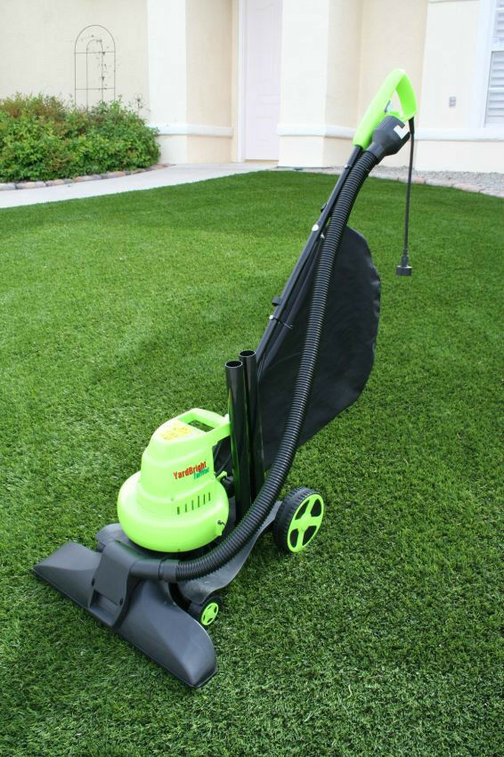 Outdoor Lawn Yard Vacuum For Artificial Turf Or Leaves