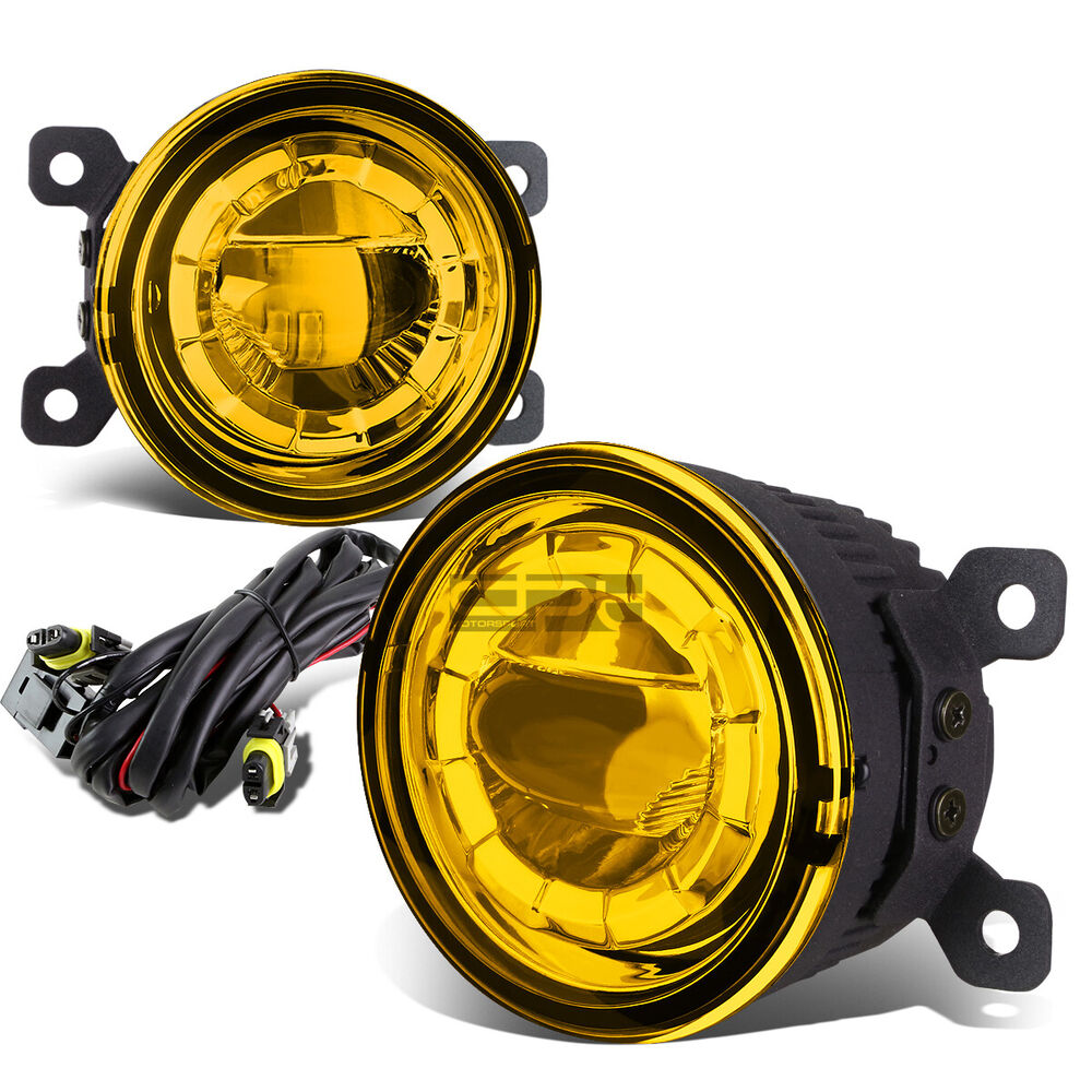 3 5 Quot Round Aluminum Housing Yellow 5w Highpower Led Driving