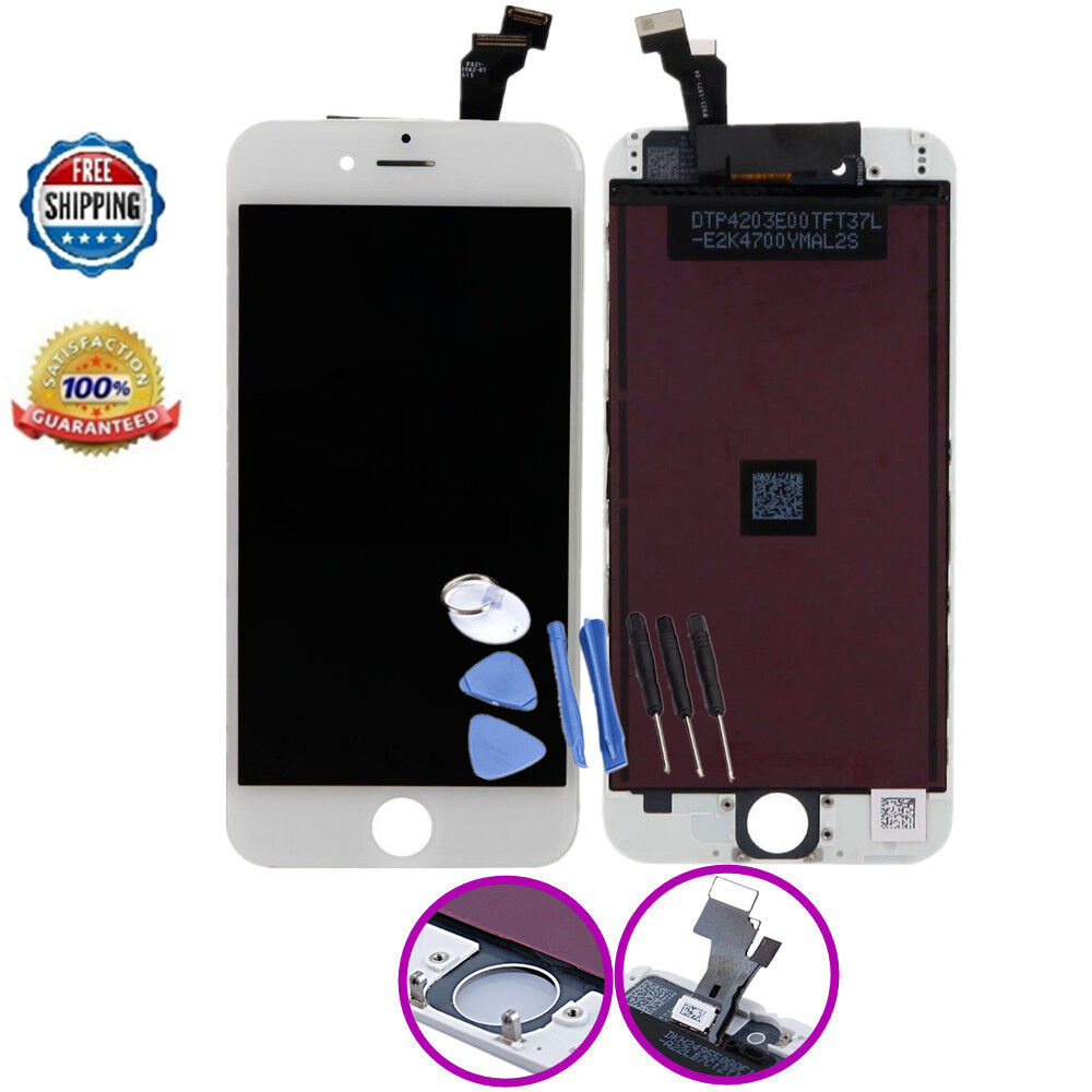iphone 6 screen replacement for iphone 6 screen replacement lcd digitizer white ebay 1033