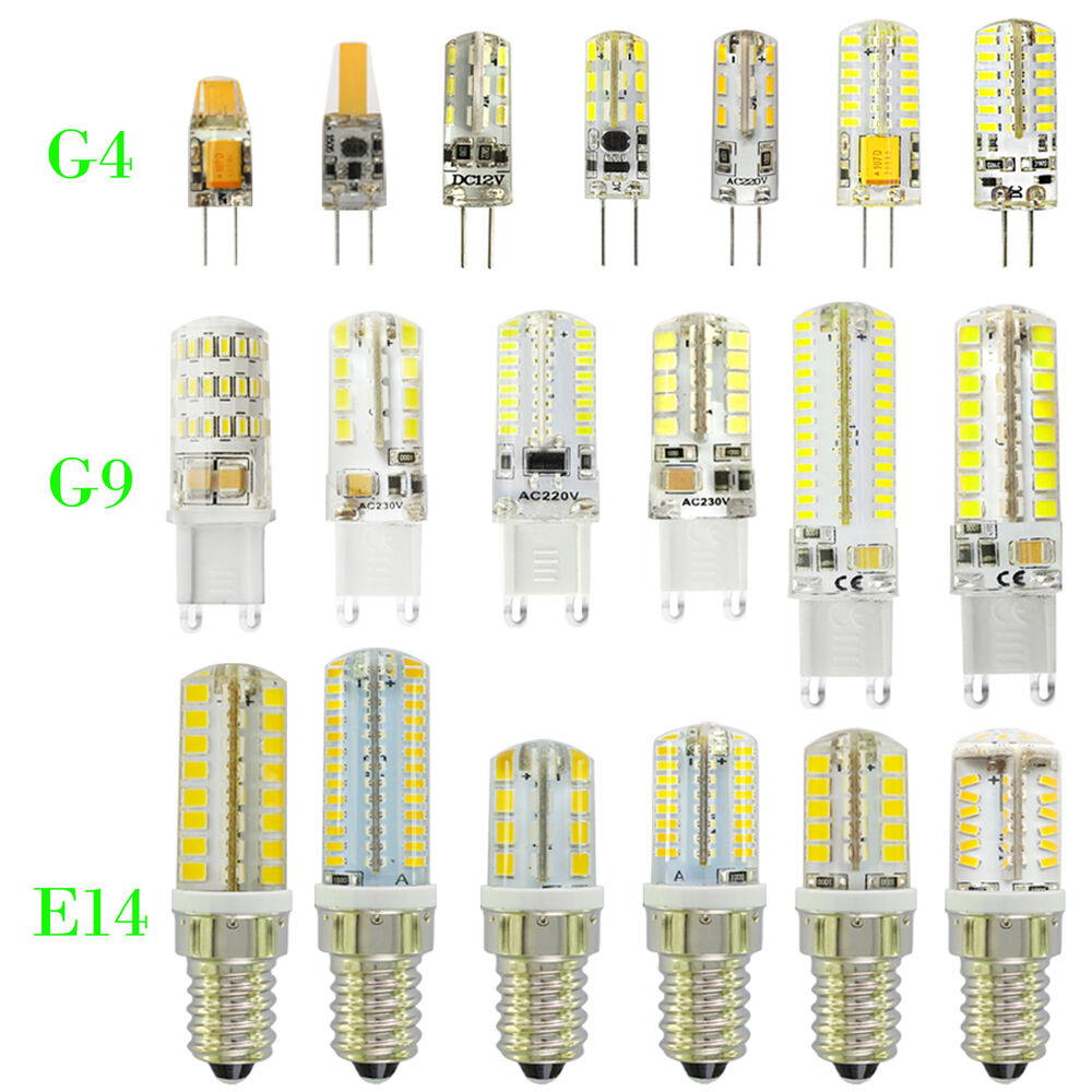 g4 g9 e14 led bulbs led candle lights replace halogen lamp capsule bulbs ebay. Black Bedroom Furniture Sets. Home Design Ideas