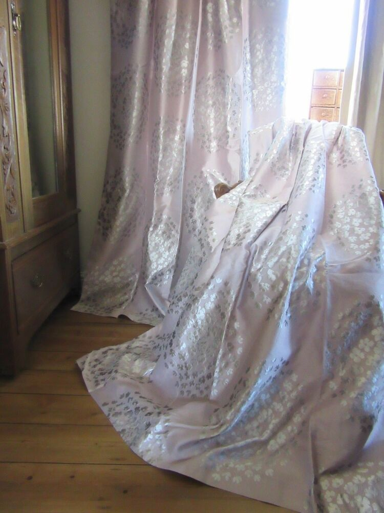 Laura Ashley Coco Amethyst Thermal Blackout Curtains
