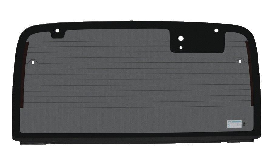 new rear back glass heated with attachments grey tinted for jeep wrangler tj ebay. Black Bedroom Furniture Sets. Home Design Ideas