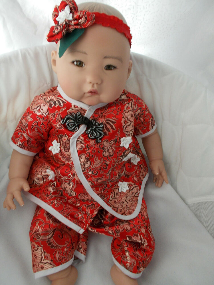Paradise Galleries Baby Mei Asian Realistic Doll 22 Quot Ebay