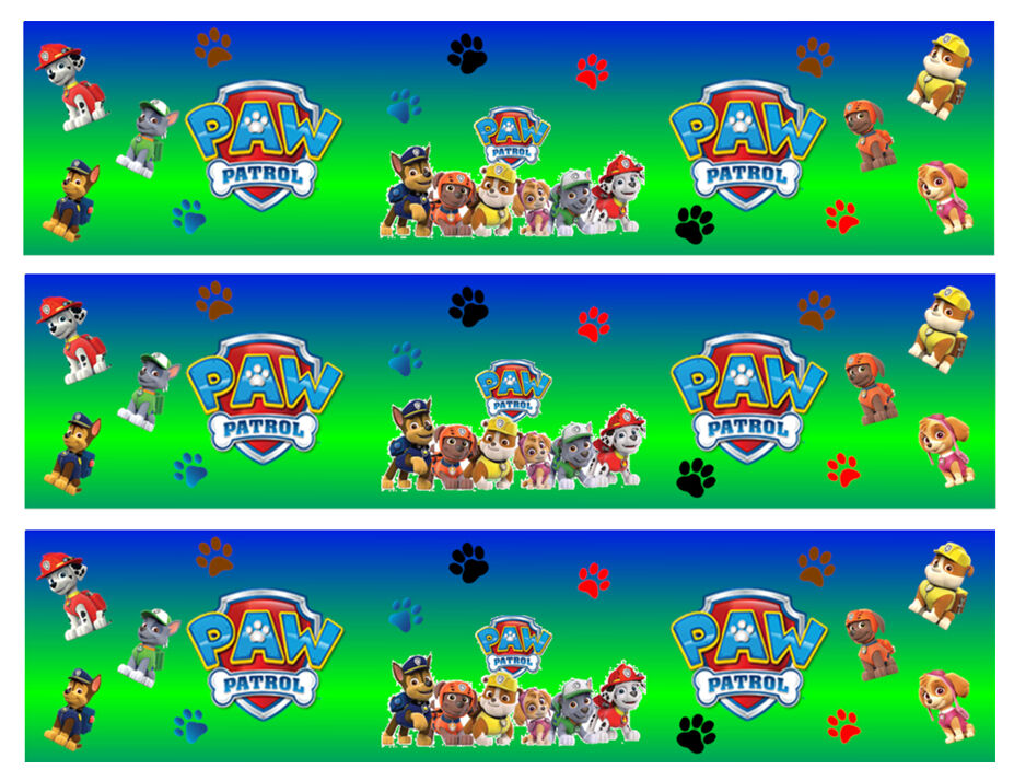 It's just a graphic of Crafty Paw Patrol Borders