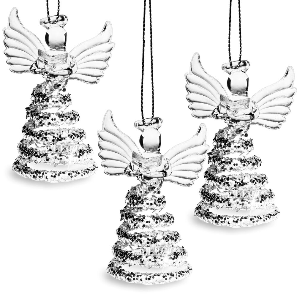 SIKORA BS409 Christmas Tree Decoration Glass Ornament ...